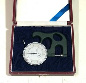 Teclock Dial Thickness Gauge With Box Made In Japan