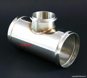 50mm Bov Blow Off Tial Q Qr V Band Turbo 304 Stainless Steel Charge Pipe 3 Od