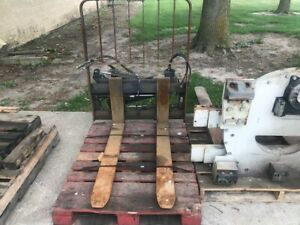 Cascade Forklift Attachment Sideshifting Fork Positioner Class Ii Mounting