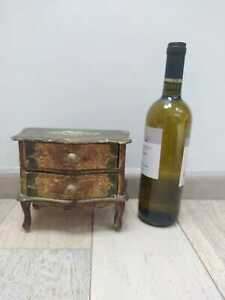 Antique 19th C Miniature Chest Of Drawers Salesman Carpenter Proof Doll House