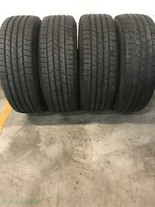 4x P225 60r17 Michelin Defender T H 8 32 Used Tires