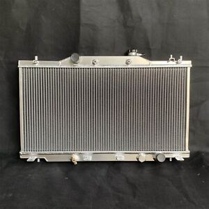 Aluminum Radiator For 2002 2006 Acura Rsx Type S Base K20 2 Row Core M T 2 0l