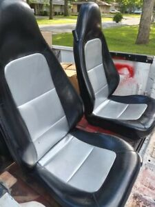 1998 2002 Bmw Z3 M Roadster Convertible Oem Used Front Sport Seats
