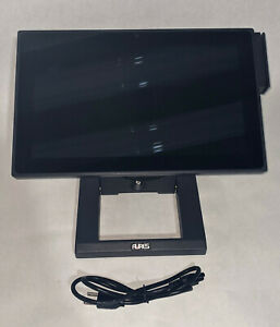 Aures J2 240 Pos Point Of Sale Touch Screen Terminal credit Card Reader stand