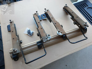 95 01 Jeep Cherokee Xj Driver And Passenger Seat Track Sliders Pair