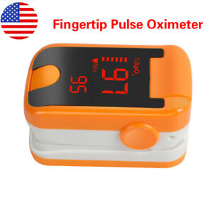 Oled Fingertip Pulse Oximeter Blood Oxygen With Spo2 Pr Heart Rate Monitor Usa