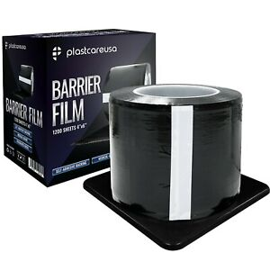 Black Barrier Film Plastic Sheets Tape For Dental Tattoo Medical Adhesive Roll