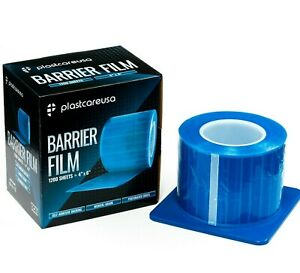 Blue Barrier Film Plastic Sheets Tape For Dental Tattoo Medical Adhesive Roll