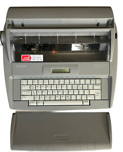 Brother Sx 4000 Electronic Typewriter W Daisy Wheel Lcd Portable W cover Tested
