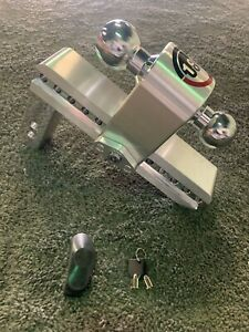 180 Ctb 10 2 Aluminum Trailer Hitch With Chrome Plated Tow Ball