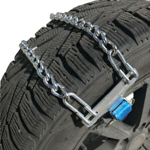 Snow Chains Tire Chains Emergency Strap For Cars And Mini Vans Set Of 2