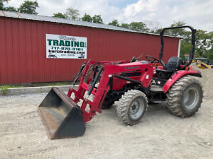 2016 Mahindra 4010 4x4 40hp Compact Tractor W Loader Super Clean 300hrs