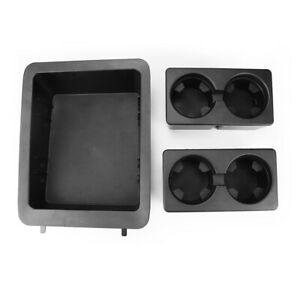 Center Console Cup Holder Insert Fits Chevy Gmc 22860866 Tray Black
