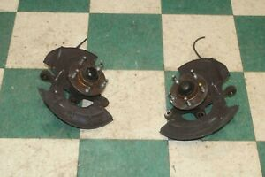96 04 Mustang Left Driver Right Passenger Front Spindle Hub Set Pair Factory Oem