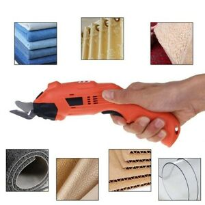 Electric Cordless Power Scissors Tailors Cutting Machine For Carpet Cloth Fabric