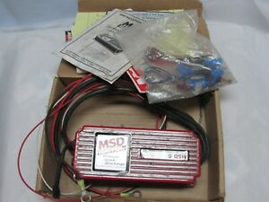 Msd Ignition 5200 Multiple Spark Discharge Iob Instructions And Parts