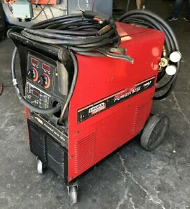 Lincoln Power Mig 300 Wire Feed Mig Welder