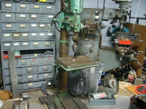 Drill Press Geared Head Made By Arboga Maskiner Type E380 74403 220 Volt 3 Ph