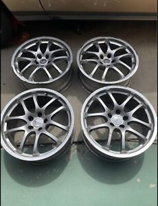 Set 4 Ray S Oem For Infiniti Forged G35 19 Wheels Staggered 19x8 19x8 5