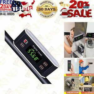 Electronic Inclinometer Digital Protractor level angle Finder And Gauge Tools