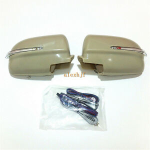 Rear View Mirror Led Lights Cover For Mitsubishi Lancer Evolution Galant Fortis
