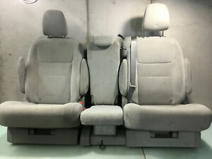12 20 Toyota Sienna Le Rear 2nd Second Row Left Right Center Seat Oem E