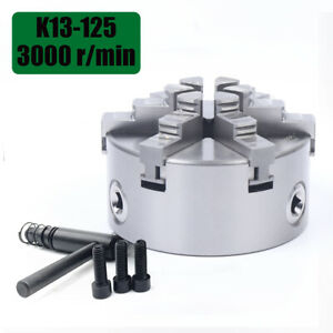 5 6 claw 125mm Self centering Lathe Chuck Cnc Milling Drilling Individual Jaws