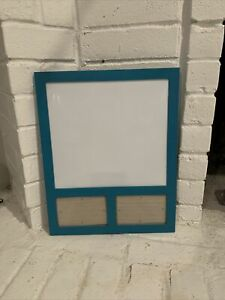 Dry Erase Board With Two Picture Frames 17 5x14