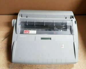 Brother Sx 4000 Electronic Typewriter Pre owned