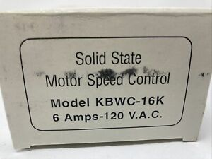 Kb Electronics Kbwc 16k Solid State Motor Speed Control