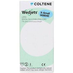 1 pack Coltene Wedjets Dental Dam Stabilizing Cord X small H08040c
