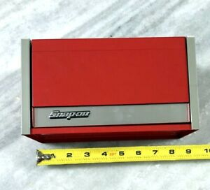 Snap On Tools Red Mini Micro Top Chest Tool Box
