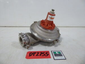 Used Diaphragm Pump Wilden Stainless Steel 2 Inlet 2 Outlet Surge Dampener D