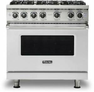 Viking 5 Series Vgr5366bss 36 Pro style Natural Gas Range 2019 Model Pictures