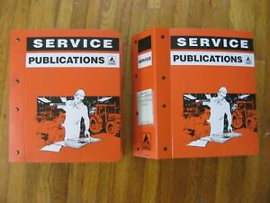 Gleaner A65 A75 Rotary Combine Service Manuals