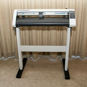 Graphtech Cutting Plotter Ce5000 60 24 In Stand Vinyl Weeding Tools Blades
