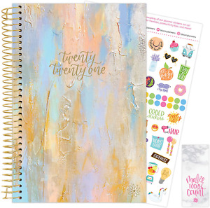 Bloom Daily Planners 2021 Calendar Year Day Planner january 2021 December 202