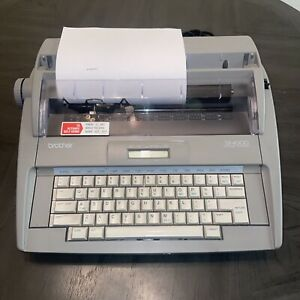 Brother Sx 4000 Electronic Typewriter Tested Nice
