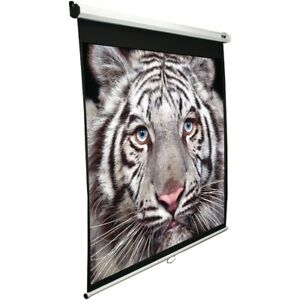 100 Inch Manual Pull down B Series Projection Screen 4 3 Format 60 Inch X 80 In