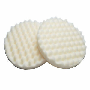 For 3 M 05725 8 Inch Round Single Sided Foam Car Polishing Pad 05725 Two Pads Us