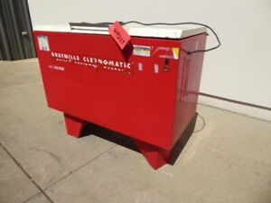 Used Washer Graymills Batch Parts Washer Wh2127 washers