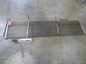 Used Heating Cooling Coil Titanium 3 lx130 wx30 h Grid Heat Coil Hc2300 heatin