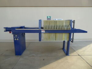 Used Filter Press Jwi 8 Cu Air Over Hydraulic Filter Press Fp2397 filter Pres