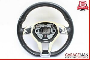 10 17 Mercedes W204 C250 E350 Driver Steering Wheel W Paddle Shifters Oem