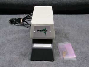 Widmer Time Recorder T 3 Electronic Date Time Stamp Time Clock W keys tested