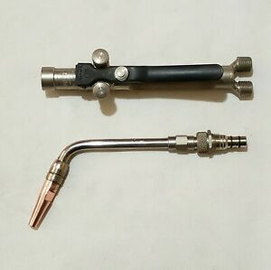 Smith Aw6 Lite o matic Airline Cutting Welding Torch Handle Aw600 Tip Tube 5