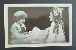 Katharine and Jane Lee Stage and Screen Actress Unposted DB Postcard $3.50