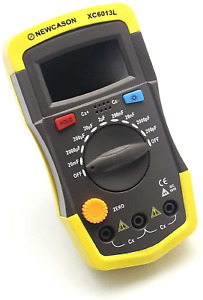 Capacitor Tester Lcd Display Screen Removable Battery Powered Home Improvement