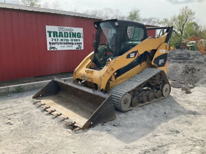 2008 Caterpillar 287c Compact Track Skid Steer Loader W Cab 2spd Only 3300hrs