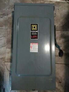 New Square D D224nrb General Duty Safety Switch Type 3r 200a 240v Best Price 1